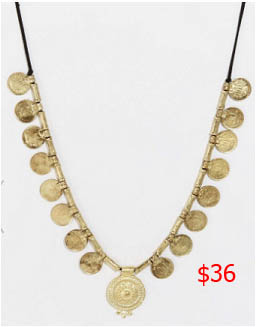 Southern Charm, Landon Clements, Landen, Coin Necklace, Indian necklace, worn on tv, tv fashion, clothes from tv shows, Southern Charm outfits, southern charm fashion, bravo, reality tv, season 3