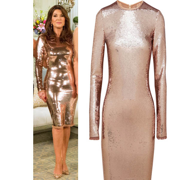Real Housewives of Beverly Hills, Reunion, Lisa Vanderpump, Tom Ford, worn on tv, tv fashion, clothes from tv shows, RHOBH outfits, bravo, reality tv