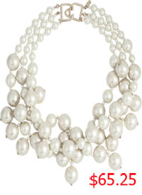 Southern Charm, Cameran Eubanks, Cameron, pearl necklace, faux pearl necklace, worn on tv, tv fashion, clothes from tv shows, Southern Charm outfits, southern charm fashion, bravo, reality tv, season 3