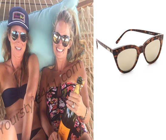 Southern Charm, Cameran Eubanks, Cameron, Camren, sunglasses, #southerncharm, #scharm, worn on tv, tv fashion, clothes from tv shows, Southern Charm outfits, bravo, reality tv, season 3