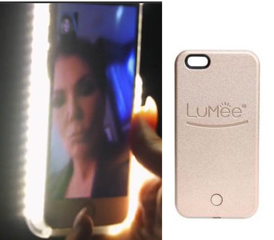 Keeping up with the Kardashians, Khloe Kardashian, cell phone case, LuMee, LED, Season 12, premiere, worn on tv, tv fashion, clothes from tv shows, Keeping Up With the Kardashians outfits, eonline, reality tv, KUWTK
