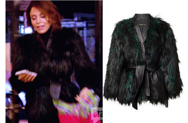 Bethenny Faux Fur Coat
