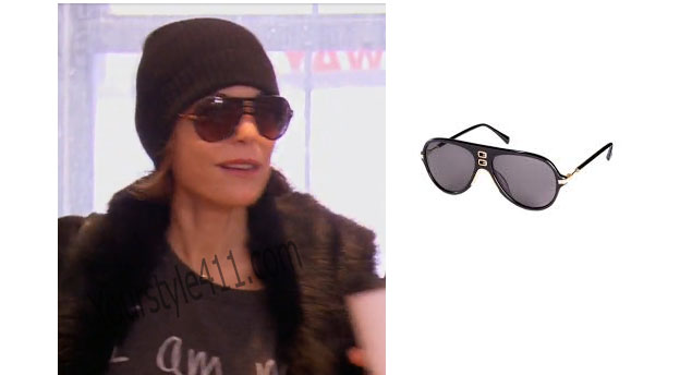 Real Housewives of New York, RHNY, Bethenny Frankel, Bethany, #RHNY, #RealHousewivesNewYork, worn on tv, tv fashion, clothes from tv shows, Real Housewives of New York outfits, Real Housewives of New York fashion, bravo, reality tv clothes, aviator sunglasses, Balmain for H&M