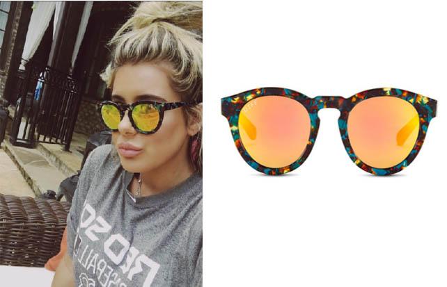 Brielle Biermann, DIFF Eyewear, Don't Be Tardy, Sunglasses, @briellebiermann, @diffeyewear, celebrity fashion, worn on tv, tv show fashion