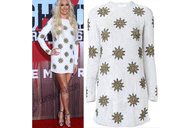 Real Housewives of Beverly Hills, RHBH, Erika Girardi, Erika Jayne, Erica Giradi, Erica Jane, star dress, sequins star dress, #RHBH, #RealHousewivesBeverlyHills, worn on tv, tv fashion, clothes from tv shows, Real Housewives of Orange County outfits, bravo, reality tv clothes
