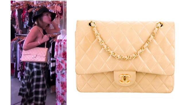Real Housewives of Orange County, RHOC, Kelly Dodd, Chanel Bag, Chanel Jumbo Bag, #RHOC, #RealHousewivesOrangeCounty, worn on tv, tv fashion, clothes from tv shows, Real Housewives of Orange County outfits, bravo, reality tv clothes