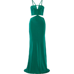 Real Housewives of New York, RHNY, Bethenny Frankel, Bethenny Frankel outfit, green jumpsuit, emerald jumpsuit, Bethenny style, Bethenny fashion, Skinnygirl party, Cushnie Et Ochs, #RHNY, #RealHousewivesNewYork, worn on tv, tv fashion, clothes from tv shows, Real Housewives of New York outfits, bravo, reality tv clothes