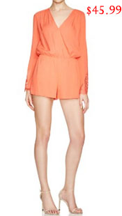 Brielle Biermann, Don't Be Tardy, Don't Be Tardy fashion, Don't Be Tardy style, #dontbetardy, #goals, orange romper, free people romper, @briellebiermann, bravotv.com, Season 5, worn on tv, tv fashion, clothes from tv shows, Real Housewives of Orange County outfits, bravo, reality tv clothes