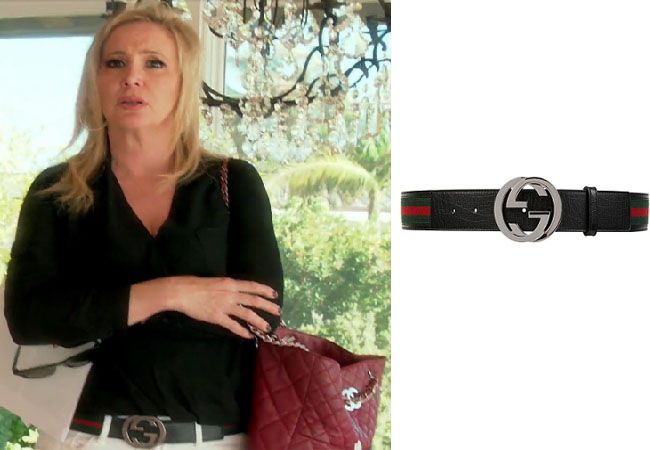 Real Housewives of Orange County, RHOC, Shannon Beador, Shannon Beador style, Shannon Beador fashion, #shannonbeador, Gucci belt, shop your tv, the take, #RHOC, Shannon Beador outfit, Watch What Happens Live, #WWHL, #RealHousewivesOrangeCounty, worn on tv, tv fashion, clothes from tv shows, Real Housewives of Orange County outfits, bravo, Season 11, reality tv clothes