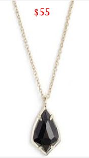 Real Housewives of Orange County, RHOC, Vickie Gunvalson, Vicki Gunvalson fashion, Vicki Gunvalson wardrobe, Vicki Gunvalson style, black pendant necklace, kendra scott, pendant necklace, #RHOC, #RealHousewivesOrangeCounty, Season 11, shop your tv, the take, bravotv.com, worn on tv, tv fashion, clothes from tv shows, Real Housewives of Orange County outfits, bravo, reality tv clothes