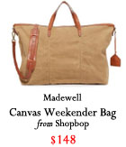 canvas bag, Holiday 2016, Christmas 2016, gift guide 2016, gifts for him 2016, gifts for her 2016, gifts for traveler, gifts for boyfriend, gifts for friend, gifts for mom, gifts for dad, gifts for sister, Christmas present ideas, budget friendly gifts 2016