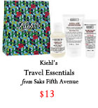 Kiehl's travel essentials, Holiday 2016, Christmas 2016, gift guide 2016, gifts for him 2016, gifts for her 2016, gifts for traveler, gifts for boyfriend, gifts for friend, gifts for mom, gifts for dad, gifts for sister, Christmas present ideas, budget friendly gifts 2016