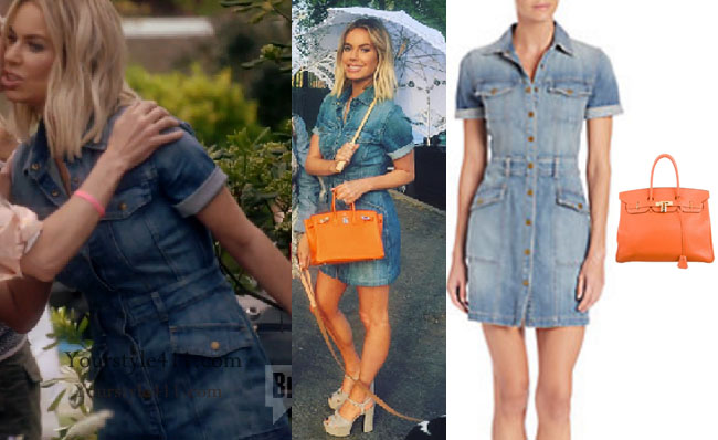 Ladies of London: Season 3, Episode 1: Caroline Sanbury`s Denim Dress
