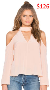 Real Housewives of Beverly Hills, RHBH, RHOBH, Kyle Richards, Kyle Richards Umansky, Kyle Richards fashion, Kyle Richards style, Kyle Richards wardrobe, #RHOBH, #RealHousewivesBeverlyHills, steal her style, the take, shop your tv, worn on tv, tv fashion, clothes from tv shows, Real Housewives of Beverly Hills outfits, bravo, reality tv clothes, Season 7, Episode 6, pink ruffle blouse, shoulder cut out blouse, exclusive for intermix