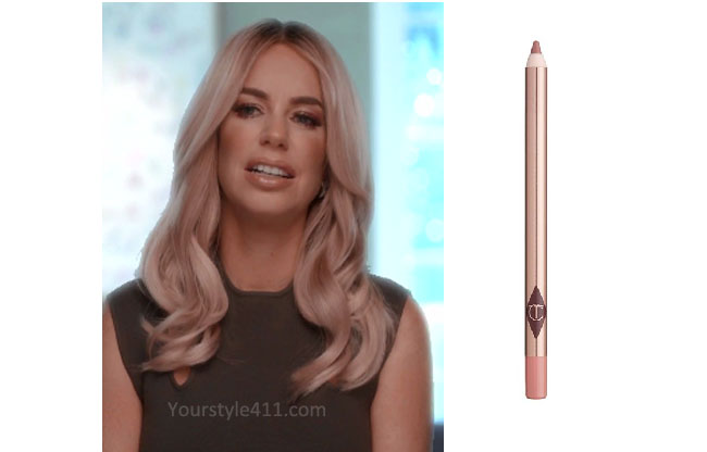 Ladies of London, Caroline Stanbury, @carolinestanbury, Caroline Stanbury style, Caroline Stanbury fashion, steal her style, shop your tv, the take, worn on tv, bravotv.com, Caroline Stansbury wardrobe, tv fashion, clothes from tv shows, Ladies of London outfits, Season 3, bravo, reality tv clothes, lip liner, plump lips, lipstick, lipstick