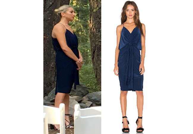 Vanderpump Rules, Stassi Schroeder style, Stassi Schroeder, Stassi Schroeder fashion, @stassischroeder, bravotv.com, #pumprules, Stassi Schroeder outfit, steal her style, shop your tv, the take, worn on tv, tv fashion, clothes from tv shows, Vanderpump Rules outfits, bravo, Season 5, reality tv clothes, Episode 20, star style, blue rehearsal dress, blue dress