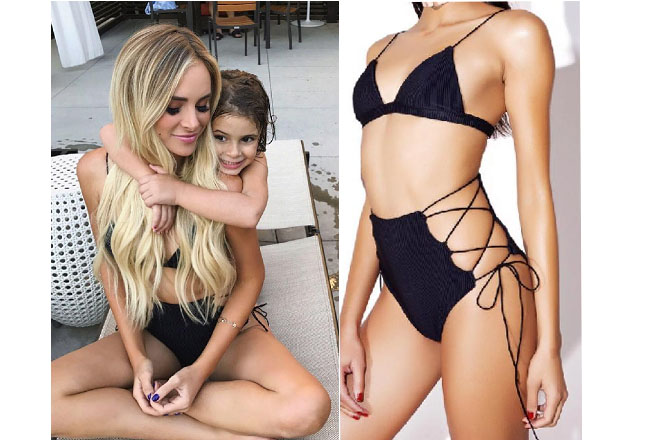 Amanda Stanton, The Bachelor, celebrity style, star style, Amanda Stanton outfits, Amanda Stanton fashion, Amanda Stanton style, shop your tv, @amanda_stantonn, worn on tv, tv fashion, clothes from tv shows, tv outfits, Amanda Stanton 2017, Amanda Stanton bachelor, Amanda Stanton Dolli Swim bikini, Amanda Stanton black bikini