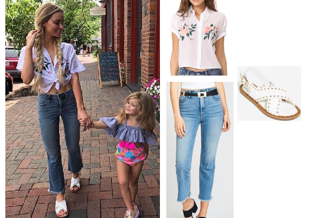 Amanda Stanton, The Bachelor,  celebrity style, star style, Amanda Stanton outfits, Amanda Stanton fashion, Amanda Stanton style, shop your tv, @amanda_stantonn, worn on tv, tv fashion, clothes from tv shows, tv outfits, amanda stanton bachelor, amanda stanton instagram, amanda stanton 2017, rails embroidered foral top, show me your mumu distressed jeans, agaci sandals