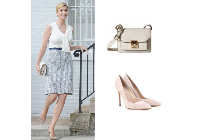 Ivanka Trump, celebrity style, celebrity fashion, celebrity outfits, celebrity wardrobe, Ivanka Trump style, Ivanka Trump fashion, Ivanka Trump outfits, 2017, Melania Trump, ivana trump, ivanka trump dresses, ivanka trump instagram, ivanka trump twitter, gianvito rossi suede pumps, ivanka trump hopewell bag