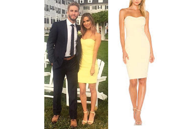 Kaitlyn Bristowe, The Bachelor, The Bachelorette, starstyle, Kaitlyn Bristowe clothes, worn on tv, tv fashion, celebritystyle, celebrityfashion, celebstyle, style, fashion, realitytv, celebrity, fashionblog, weddingstyle, aseenontv, bachelor, bachelorette, bachelorinparadise, summerstyle, rachellindsay, jojofletcher, likely laurens dress, likely buttercup dress