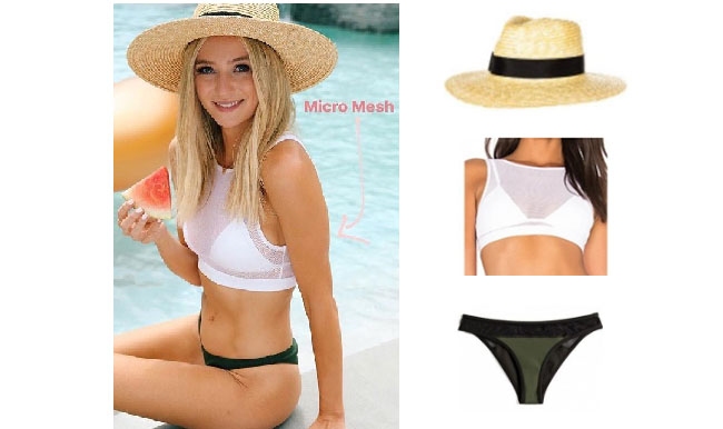 Lauren Bushnell, The Bachelor, celebrity style, star style, Lauren Bushnell outfits, Lauren Bushnell fashion, Lauren Bushnell Style, shop your tv, @laurenbushnell, worn on tv, tv fashion, clothes from tv shows, tv outfits, kylie + kendall bikinis, lauren bushnell`s bikini, lauren bushnell`s straw hat, lauren bushnell blog, lauren bushnell age