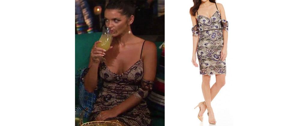 Bachelor In Paradise Season 4 Episode 3 Raven Gates Lace Dress