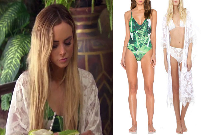 Amanda Stanton, The Bachelor, celebrity style, star style, Amanda Stanton outfits, Amanda Stanton fashion, Amanda Stanton style, shop your tv, @amanda_stantonn, worn on tv, tv fashion, clothes from tv shows, tv outfits, Bachelor in Paradise, #bachelorinparadise, bachelor in paradise 2017, bachelor in paradise scandal, stone cold fox leaf one piece, nightcap clothing