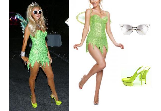Paris Hilton, celebrity, Paris Hilton outfits, Paris Hilton clothes, Halloween Costumes 2017, Halloween makeup, Halloween 2017, Paris Hilton style, Fairy Halloween costume, Fairy costume