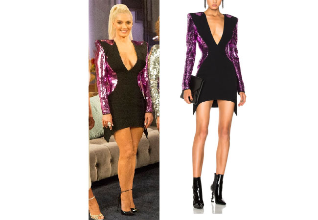 Real Housewives of Beverly Hills, RHBH, RHOBH, Erika Girardi, Erika Jayne, Erica Giradi, Erica Jane, #RHBH, #RealHousewivesBeverlyHills, shop your tv, the take, steal her style, worn on tv, tv fashion, clothes from tv shows, Real Housewives of Orange County outfits, bravo, reality tv clothes, Season 8, Gucci, Dior, Vintage, Mugler sequin mermaid dress, erika girardi's reunion dress