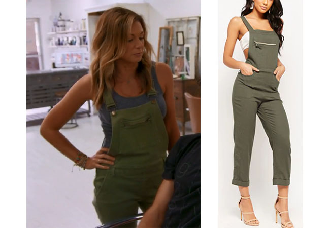 Southern Charm Season 5 Episode 4 Chelsea Meissner S Green Overalls Your Style 411