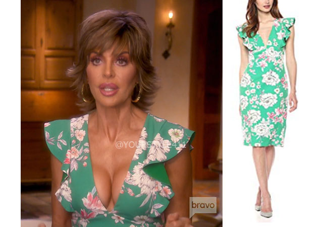 Real Housewives of Beverly Hills, RHOBH, Lisa Rinna, Season 9, Lisa Rinna's outfit, celebrity outfits, reality tv shows, Real Housewives of Beverly Hills outfits, bravo, reality tv clothes