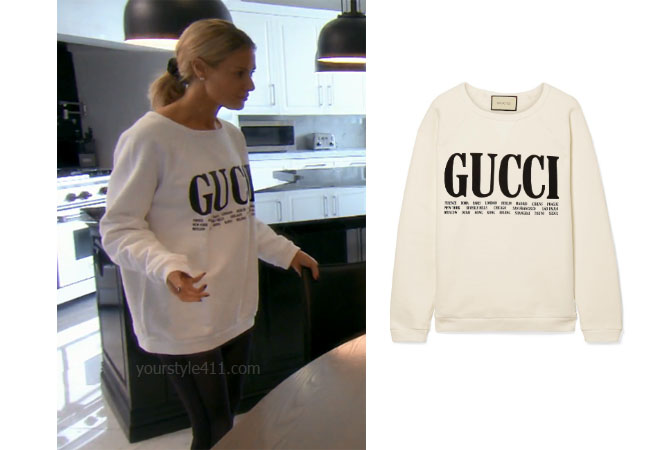fortnite, Real Housewives of Beverly Hills, RHOBH, Dorit Kemsley, Season 9, Dorit Kemsley's outfit, celebrity outfits, reality tv shows, Real Housewives of Beverly Hills outfits, bravo, reality tv clothes, Game of Thrones, Gucci Oversized Cotton Terry Sweatshirt, Vanderpump, Dorit's Gucci Sweatshirt, LVP, Lisa Vanerpump