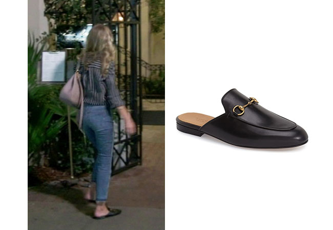 Southern Charm, Bravo TV, Cameran Eubanks, Star Style, fortnite, Game of Thrones, Cameran Eubanks' outfit, Cameran's mules, Gucci Princetown Mules