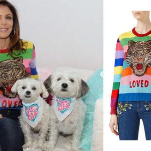 Bethenny Frankel, Real Housewives of New York, RHONY, BravoNation, Bethenny Frankel on Instagram, Bethenny's Gucci Sweater, Gucci Wool Stripe Sweater