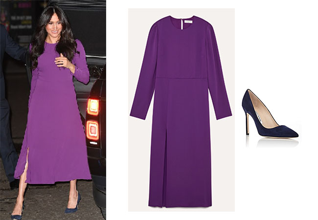 Meghan Markle, Duchess of Sussex, Royalty, Harry, Aritzia Maxwell Dress, Manolo Blahnik BB Pump, One World Summit, Kate Middleton, Suit outfits, Ranchel Zane