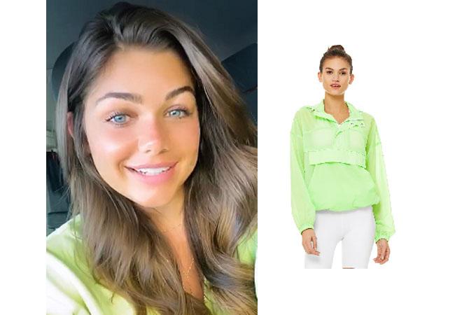 Hannah Sluss, The Bachelor, Alo Yoga Flourish Pullover, #thebachelor