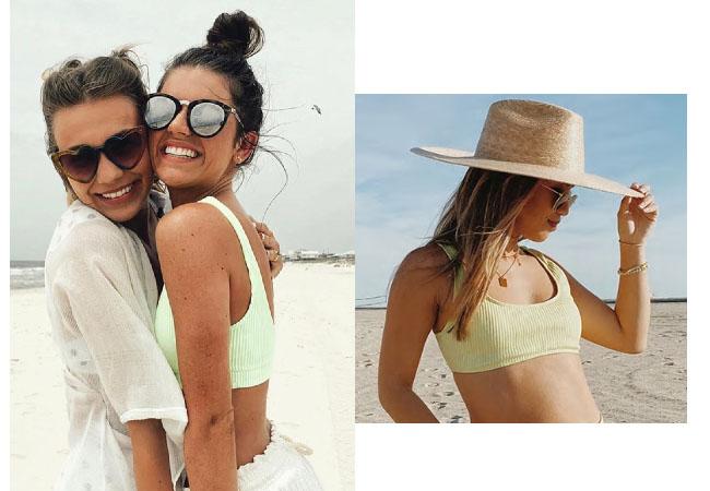 The Bachelor, the Bachelorette, Madison Prewett, Forever 21 Ribbed Bralette Bikini Top