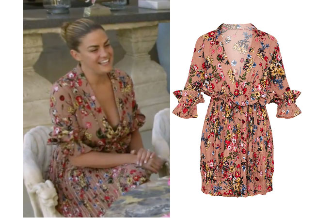 Vanderpump Rules, Brittany Cartright, Stassi Schroeder, PrettyLittleThing Floral Dress
