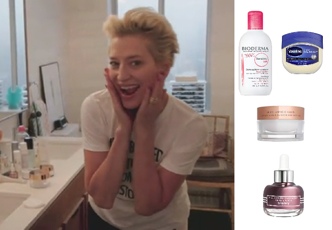 Dorinda Medley, Real Housewives of New York, RHONY, Dorinda's Skincare Routine Secrets for Great Skin, Bioderma Cleansing Milk, Charlotte Tilbury Cleansing Balm, Sisley paris Face Oil, Vaseline