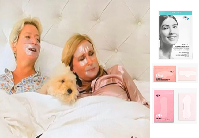 Dorinda Medley, Sonja Morgan, Real Housewives of New York, RHONY, Season 12, Hamptons, Vibratorinthechicken, Skinny Dipping in Hamptons, Dorinda and Sonja's Face Masks, Sio Beauty Face Masks, Dorinda's skin care tips