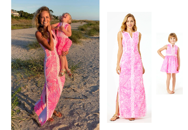 Cameran Eubanks, Southern Charm, Mother Daughter Dress, Cameran's Pink Dress, Cameran Eubanks leaving Southern Charm, Lilly Pulitzer Daise Dress, Lilly Pulitzer Mini Franci Dress
