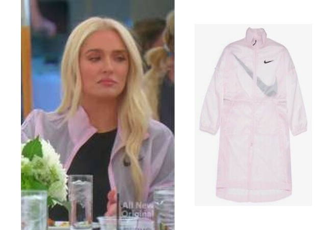 Erika Girardi, Erika Jayne, RHOBH, Real Housewives of Beverly Hills, Erika's Pink Jacket, Ericka's pink wind breaker