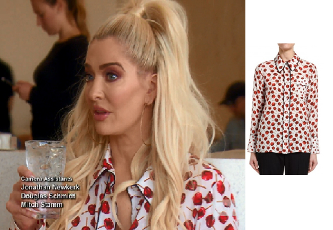 Erika Girardi, Erika Jayne, RHOBH, Real Housewives of Beverly Hills, Erika's Apple Shirt, No. 21 Candy Apple Shirt