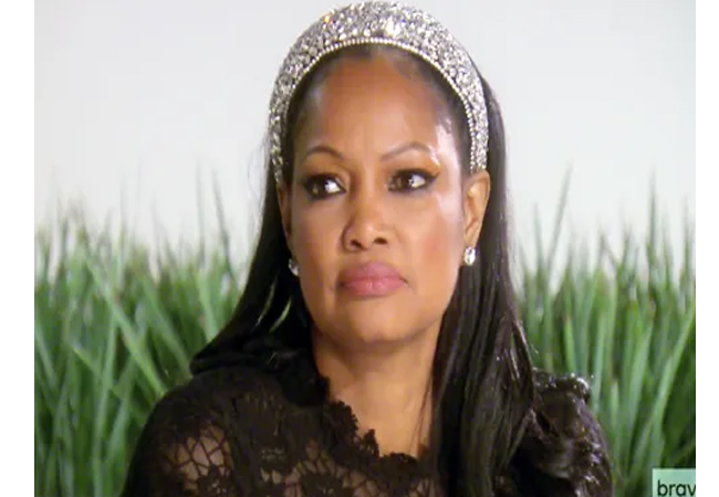 Gracelle Beavais; Real Housewives of Beverly Hills; RHOBH; Gracelle's Jeweled headband; Gracelle's headband at LA Mission; Zara Bejeweled Headband