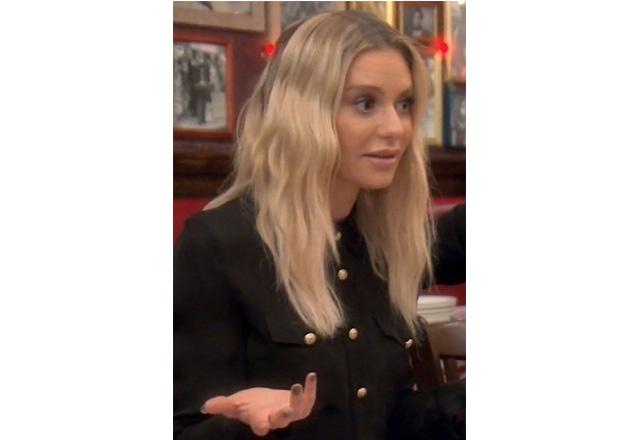 Dorit Kemsley; Real Housewives of Beverly Hills; RHOBH, Balmain Black Shirt; Dorit's Black Black Shirt, Dorit's outfits; Dorit's stylist