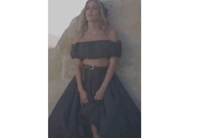 Kristin Cavallari; Very Cavallari; Jay Cutler; Kristin Cavallari and Jay Cutler Divorce; Kristin Cavallari's Black Top and Skirt on Instagram Stories; Staud Ant Top; Staud Mariposa Skirt
